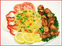 Chicken Tawook Plate